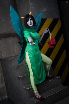 God Tier Terezi Pyrope Cosplay by Sioxanne