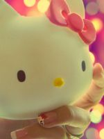 Hello Kitty Purr by lilsparkle2011