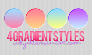 Gradient Styles by vickyedits