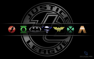 Justice League Emblems III by MitchellLazear