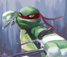 TMNT: Raph by Mosrael-the-Waker