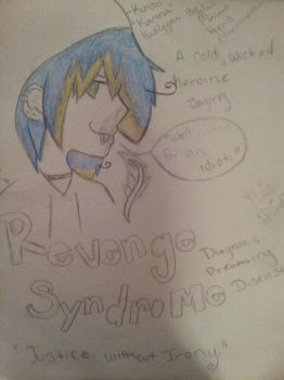 Karma's Dreaming Disease -Coloring Wip- by NoxNyx