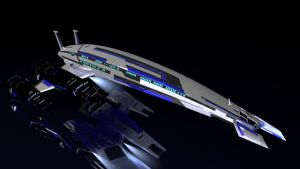 SR-2 Class Normandy Variant by The-Didact