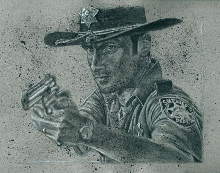 Rick Grimes w/Video by Sofera