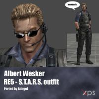 Albert Wesker RE5 STARS Outfit by Adngel