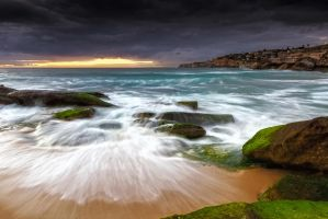 Swirls on the Rock by MarkLucey