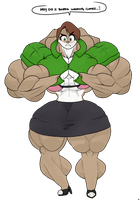 Beefy Millie by TheCottonCandyQueen