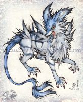 Garurumon by Shivita