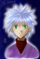 Killua for Shuu by natsupa