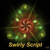 Swirly Script by Kabuchan