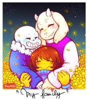 Soriel - Family by Shuwappy