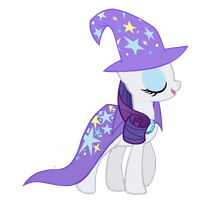 The Great and Powerful Rarity by Rarity6195