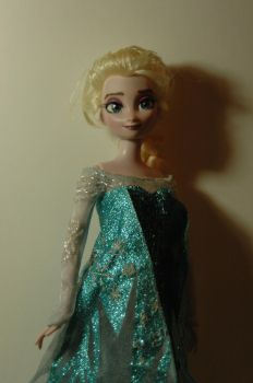 Elsa Frozen  OOAK doll by VizZza