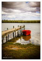 Bergrivier jetty by wikusm