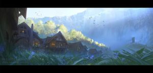Town of Beginnings by najtkriss