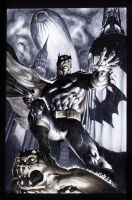 Jim Lee Batman for Big Wow Comic Fest by gattadonna