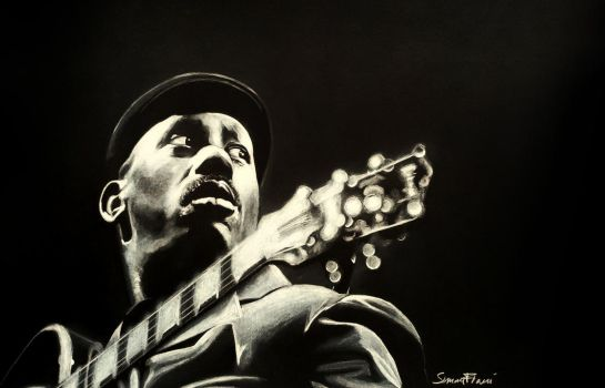 The Incredible Jazz Guitar - Wes Montgomery by SoulShapedFace