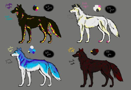 Wolf Adopts Round One OPEN by Starquilled