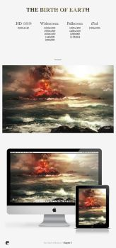 The Birth of Earth Wallpaper Pack by PaulHectorT