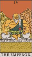Street Fighter Tarot - The Emperor by SayIanIanIan