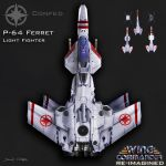 Wing Commander Re-Imagined. P-64 Ferret by dczanik
