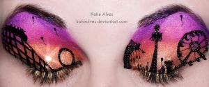 Carnival Sunset Eyes by KatieAlves