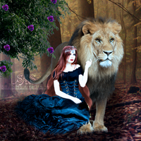 The Princess of the Forest and the King by SilviaMS
