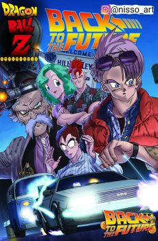 back to the future dbz style by nissimaharonov