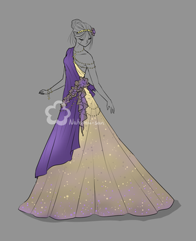 Evening gown design - sold by Nahemii-san