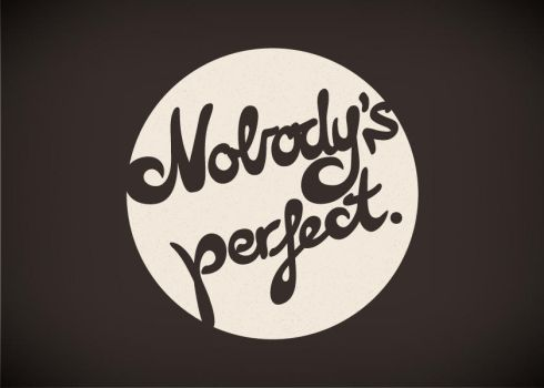Nobody's perfect. by pica-ae