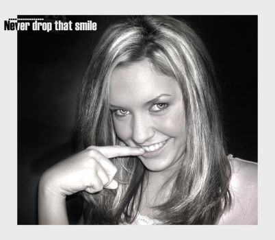 never Drop That Smile by ouzthewise