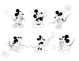 Mickey Mouse KH Series by GunZcon