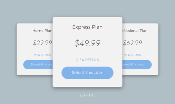 Daily UI #030 - Pricing by Terrance8d