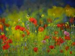 Where Hero's Have Fallen 1914-18 - Oil Painting by AstridBruning