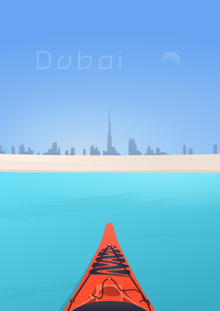Dubai Kayak by kartine29