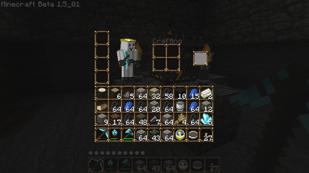 Inventory after a Cave run by BlowJoe