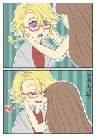 Yoosung And MC by Jelly-June