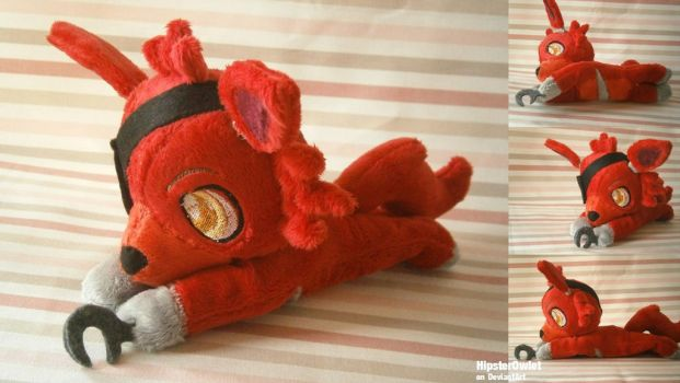Foxy Beanie Plush - Five Nights at Freddy's by HipsterOwlet