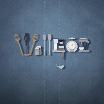Willgoz kitchen tools typography by AguedaMarcia