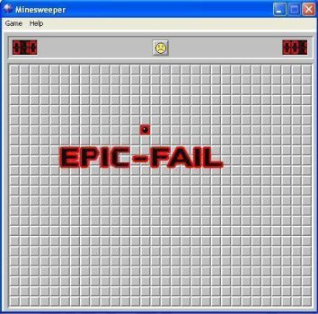 normally game of minesweeper in windows. by honeythehedgehog-cx