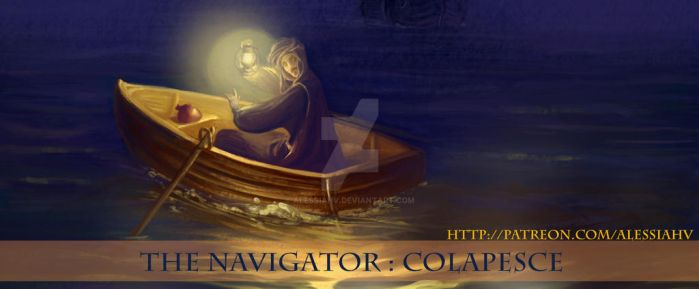 [Patreon]THE NAVIGATOR: Colapesce by AlessiaHV