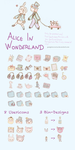 Alice in Wonderland Iconset by PumpkinCoocie