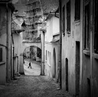 On these narrow streets... by Lost-in-a-day