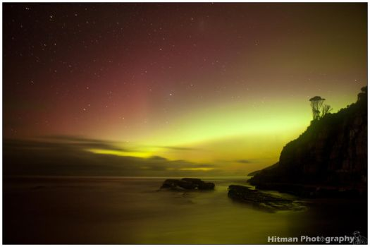 Aurora goodness at Rebounds by Hitman35mm
