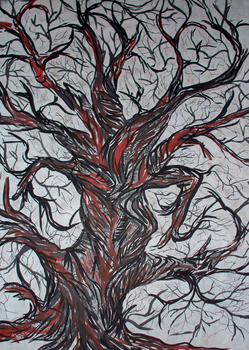 tree 1 by JenniferStedmanArt