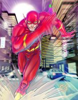 The Flash final commission by madmagnus