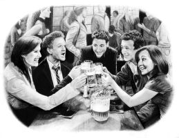 how i met your mother by kitsunegari16