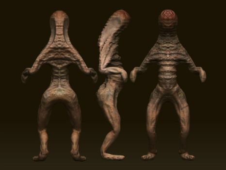Alien Character-1 by JohnRocket