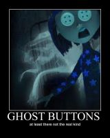 Ghost buttons by Freddylover13