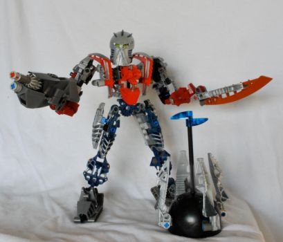 Bionicle MOC: Optimus Prime and the Matrix by exit20one
